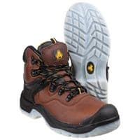 Amblers Safety FS197 Waterproof Safety Footwear Brown